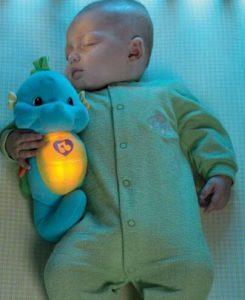 宝宝睡觉安抚小海马