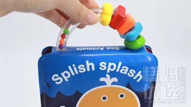 宝宝的洗澡玩具,好玩到爸爸都停不下来